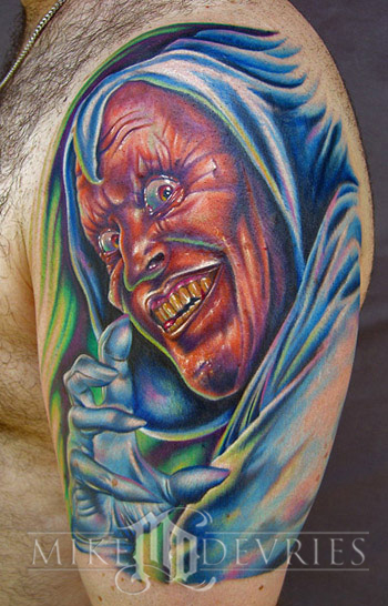 Mike DeVries - Hobgoblin Tattoo